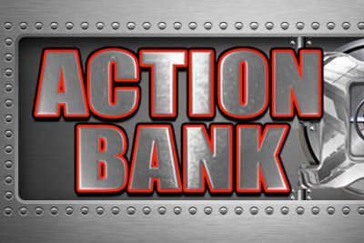 Action Bank Mobile Slot Logo