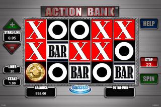 Action Bank Mobile Slot Reels