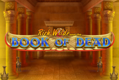Book of Dead Mobile Slot Logo