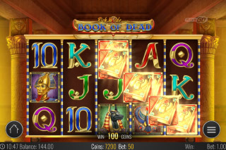 Book of Dead Mobile Slot Win