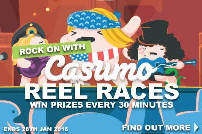 Win Casumo Free Spins & Bonuses