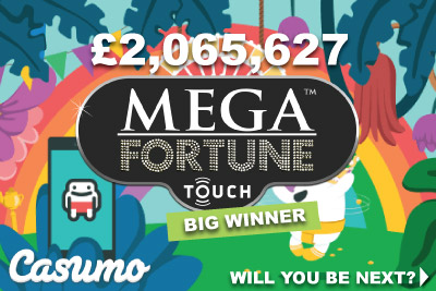 Mega Fortune Touch Big Winner From UK