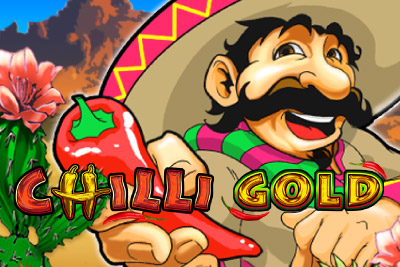 Chilli Gold Mobile Slot Logo