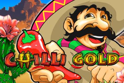 Chilli Gold Mobile Slot Logo