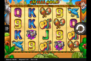 Chilli Gold Mobile Slot Reels