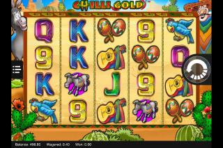 Chilli Gold Mobile Slot Reels