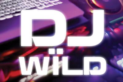 DJ Wild Mobile Slot Logo