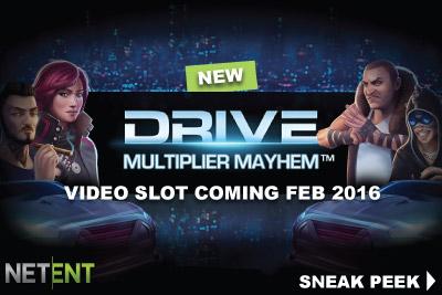 Take A Sneak Peek Of New NetEnt Mobile Slot Drive