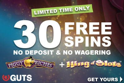 Get Your Guts Casino Free Spins Exclusively Here