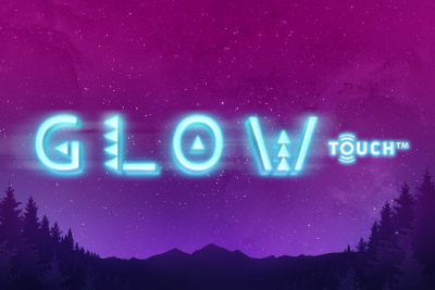 Glow Mobile Slot Logo