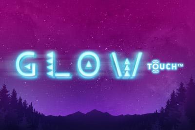 Glow Mobile Slot Logo