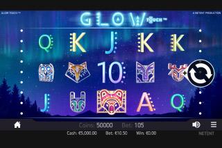 Glow Mobile Slot Reels