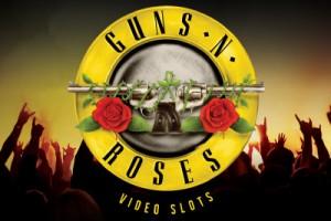 Guns N Roses Mobile Slot Logo
