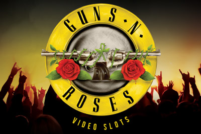 Guns N Roses Mobile Slot Logo