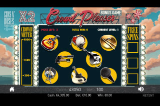 Guns N Roses Mobile Slot Bonus