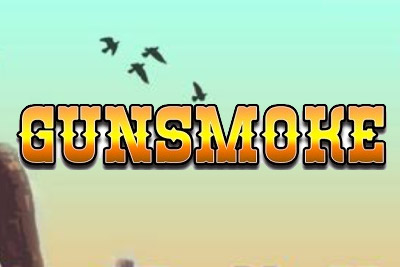 Gunsmoke Mobile Slot Logo