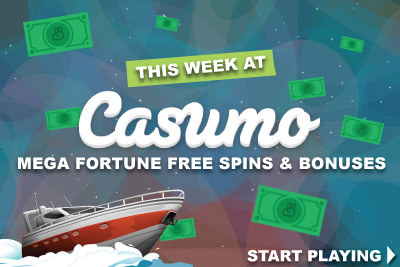 best online casino bonus codes mega fortune