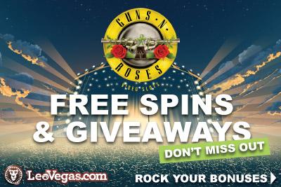 Enjoy Guns N Roses Free Spins & Giveaways