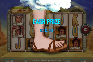 Life of Brian Mobile Slot Foot of God