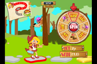 Little Red Riding Reels Mobile Slot Bonus Wheel