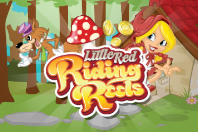 Little Red Riding Reels Mobile Slot Logo
