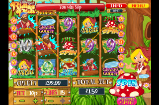 Little Red Riding Reels Mobile Slot Reels