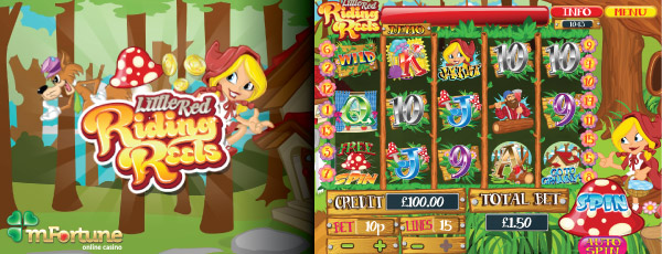 mFortune's Little Red Riding Reels Mobile Slot Preview