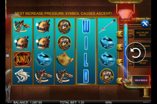 Nemos Voyage Mobile Slot Wild Reels