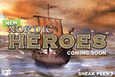 New Nordic Heroes IGT Mobile Slot Sneak Preview