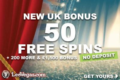 New UK LeoVegas Casino Bonus
