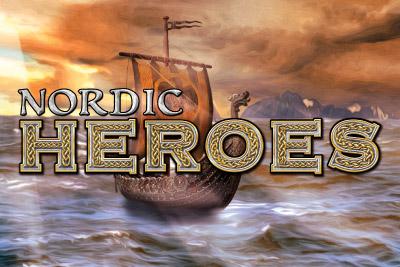 Nordic Heroes Mobile Slot Logo