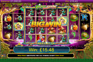 Pixie Gold Mobile Slot Big Win