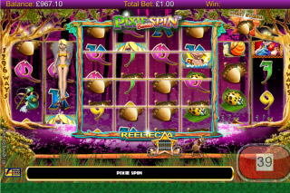 Pixie Gold Mobile Slot Free Respin