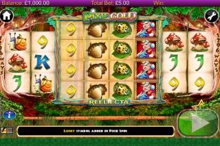 Pixie Gold Mobile Slot Reels