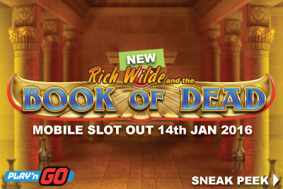 New Book of Dead Mobile Slot Release January 2016