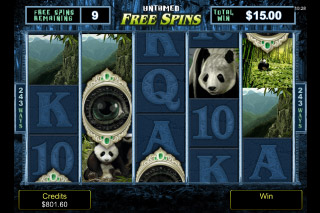 Untamed Giant Panda Mobile Slot Free Spins