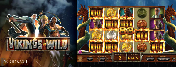 Yggdrasil Vikings Go Wild HTML5 Slot Screenshot