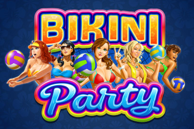 Bikini Party Mobile Slot Logo