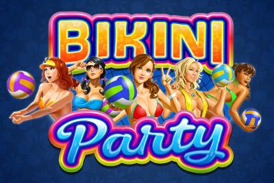 Bikini Party Mobile Slot Logo