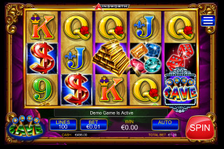 Cash Cave Mobile Slot Reels