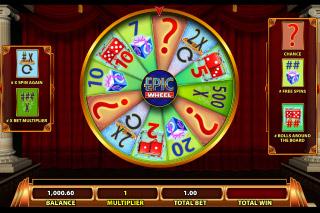Epic Monopoly 2 Mobile Slot Bonus Wheel