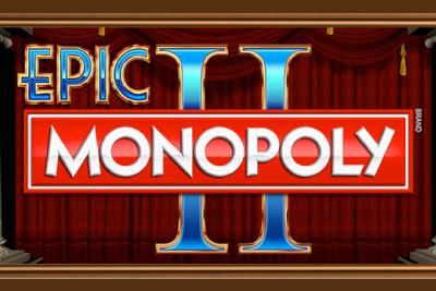 Epic Monopoly 2 Mobile Slot Logo