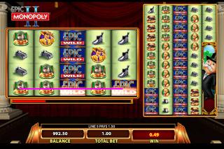 Epic Monopoly 2 Mobile Slot Reels
