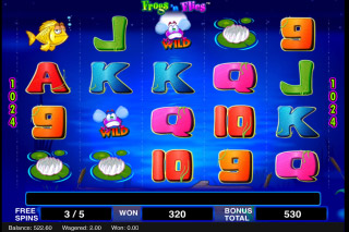 Frogs n Flies Mobile Slot Free Spins