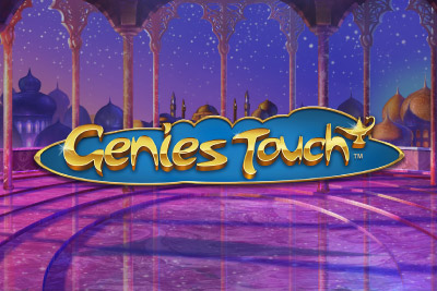 Genies Touch Mobile Slot Logo