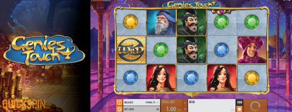 Genies Touch Slot Screenshot