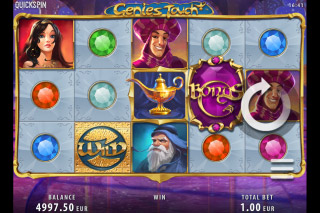 Genies Touch Mobile Slot Reels