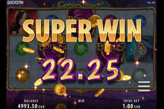 Genies Touch Mobile Slot Super Win