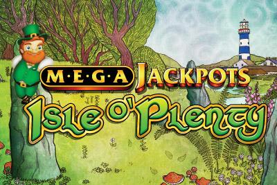 MegaJackpots Isle O'Plenty Mobile Slot Logo