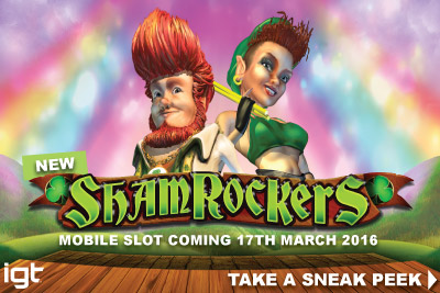 New IGT Shamrockers Video Slot Coming March 2016